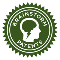 Logo for Brainstorm Patents